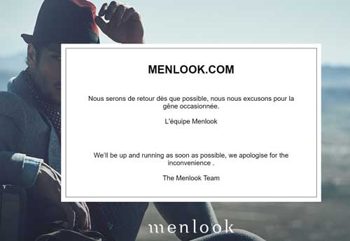 Menlook liquidation